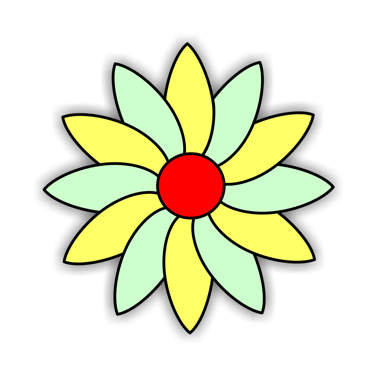 Coloring pages Flowers - free downloads