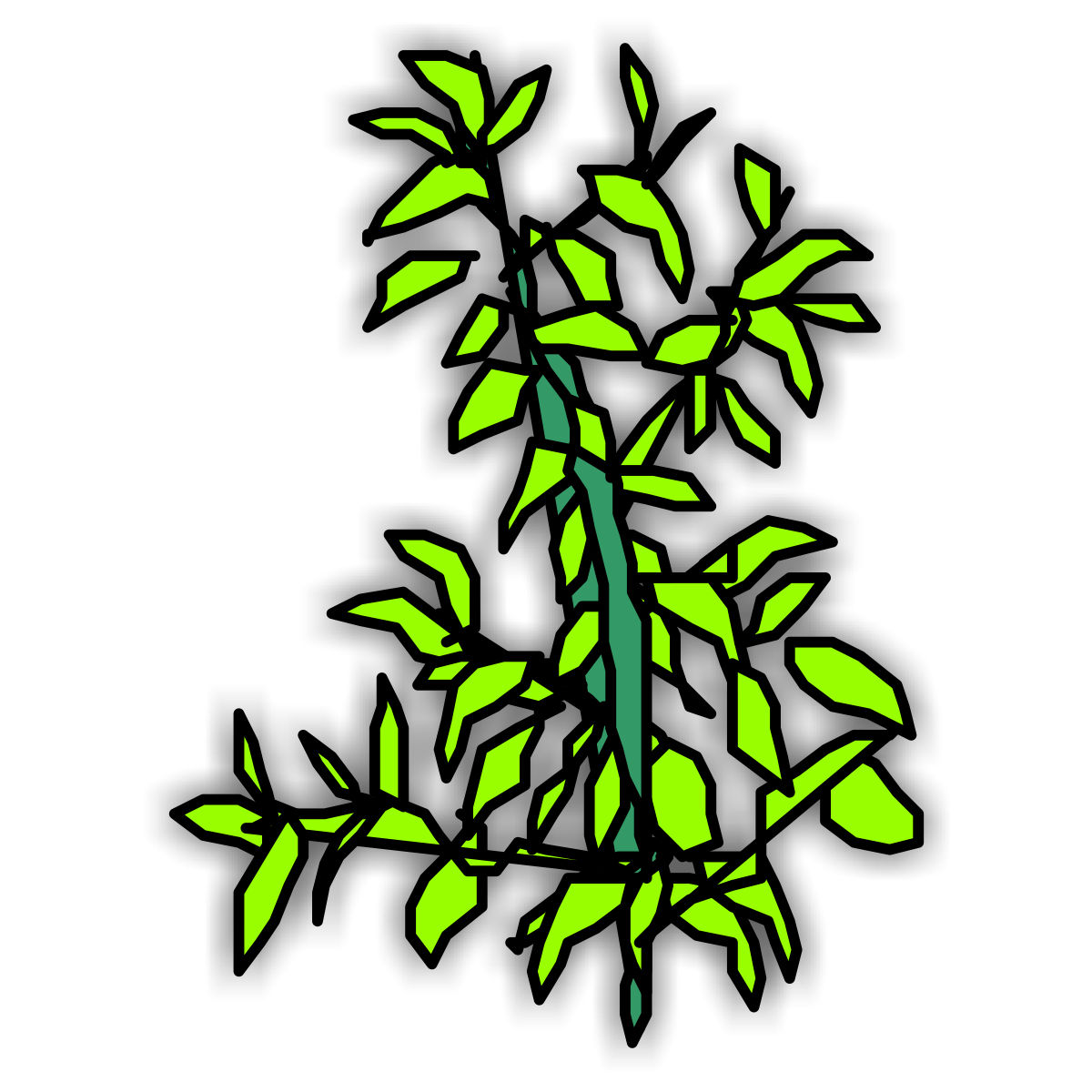 Coloring pages plants - free downloads
