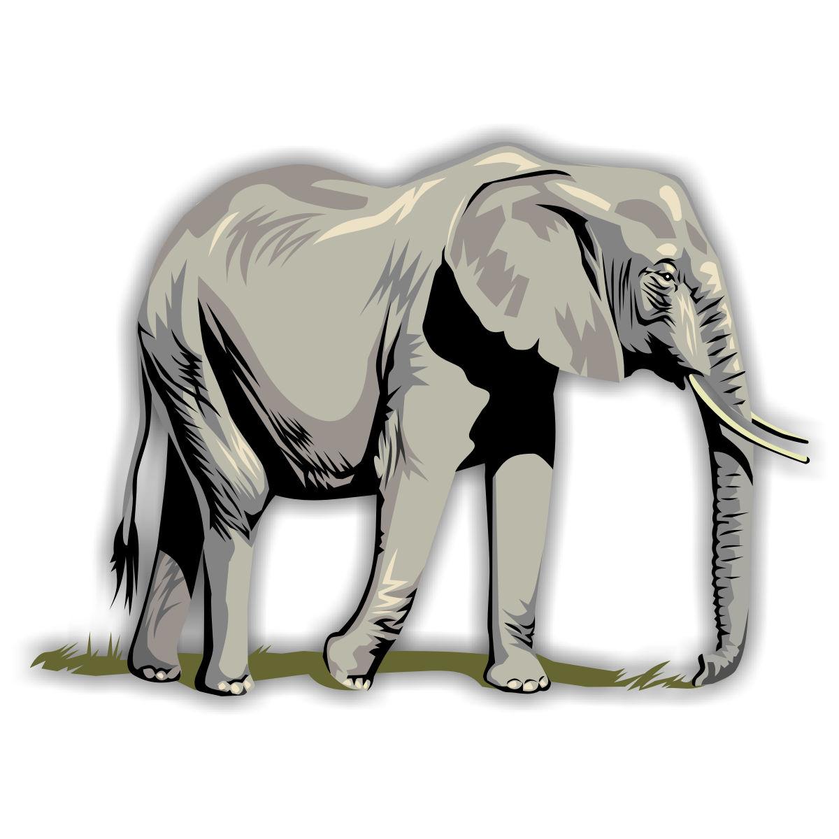 Download wildtiere malvorlage elefant