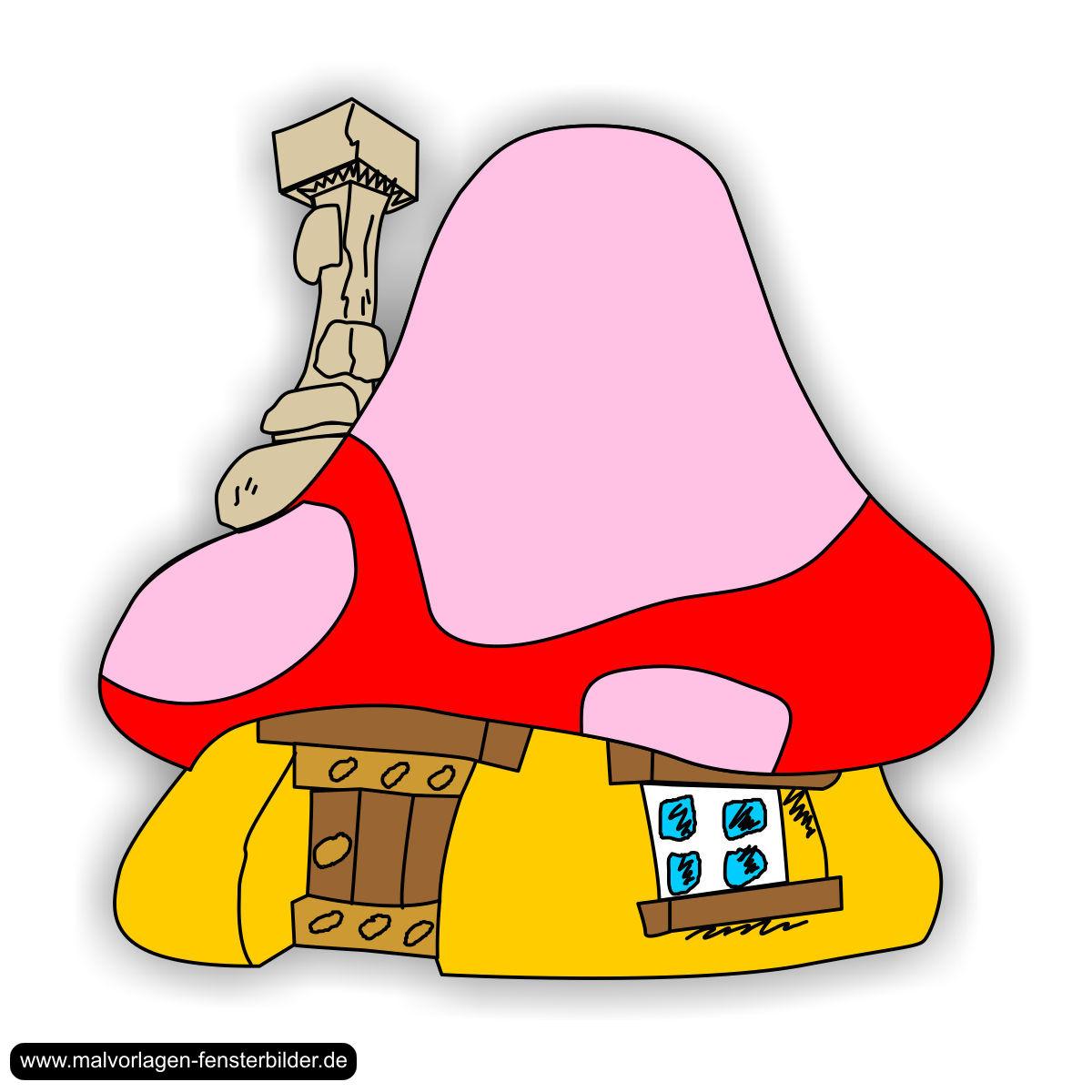Mushroom house Mushrooms and House